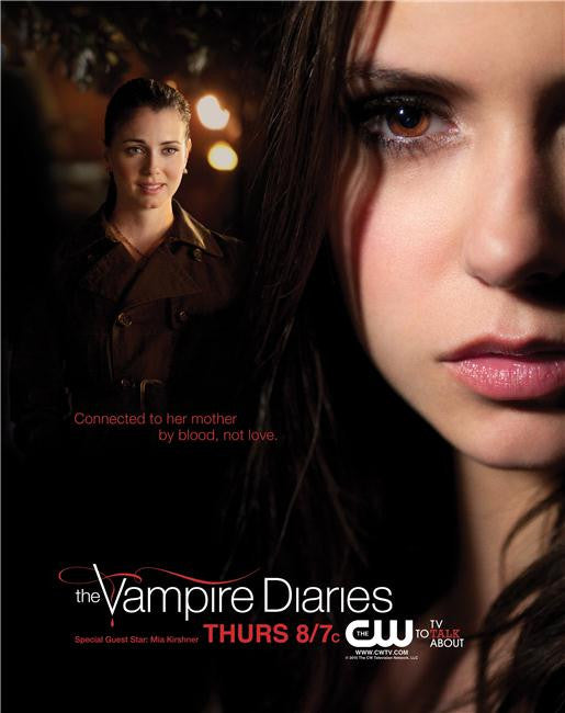 Vampire Diaries Silk Print TV Shows Poster 036