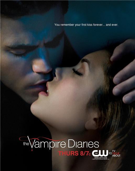 Vampire Diaries Silk Print TV Shows Poster 046