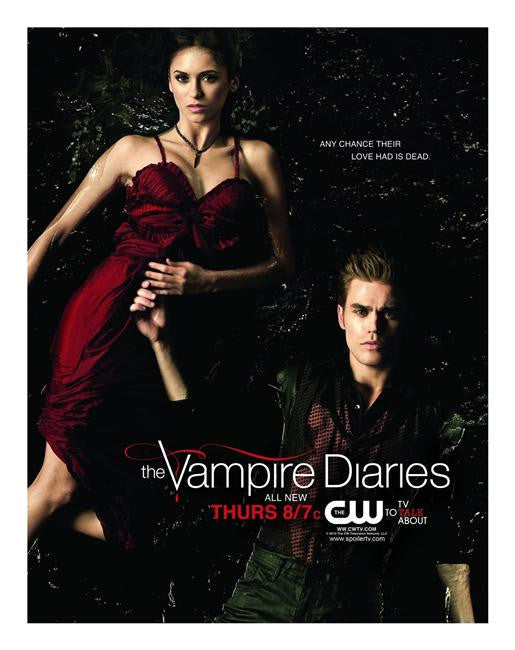 Vampire Diaries Silk Print TV Shows Poster 051