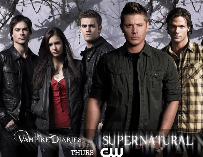 Vampire Diaries Silk Print TV Shows Poster 055