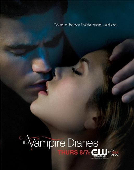 Vampire Diaries Silk Print TV Shows Poster 058