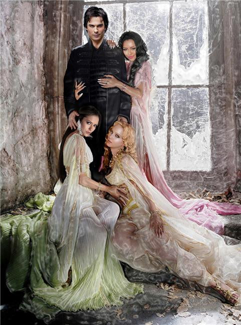 Vampire Diaries Silk Print TV Shows Poster 059