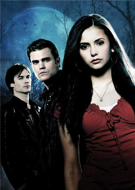 Vampire Diaries Silk Print TV Shows Poster 070