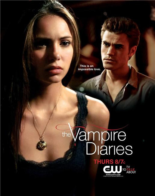 Vampire Diaries Silk Print TV Shows Poster 074