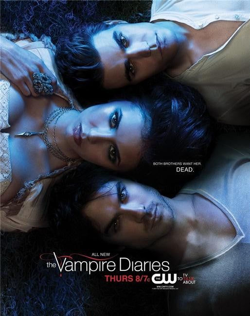 Vampire Diaries Silk Print TV Shows Poster 083