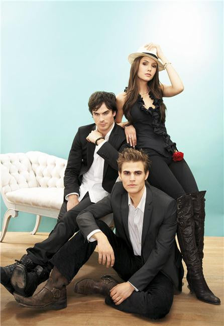 Vampire Diaries Silk Print TV Shows Poster 088