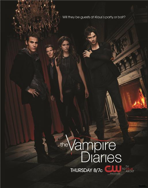 Vampire Diaries Silk Print TV Shows Poster 097