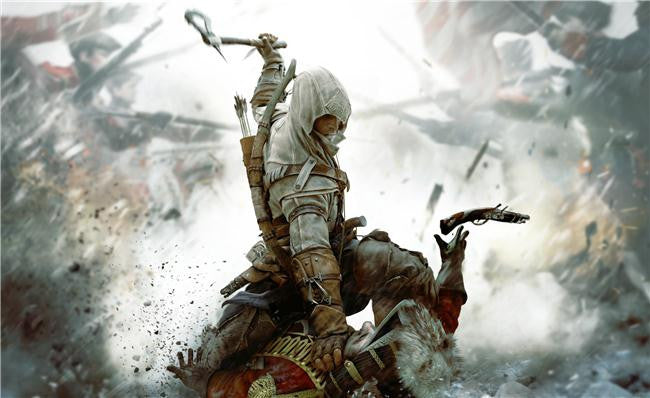 Assassins Creed III Silk Print Games Poster 002