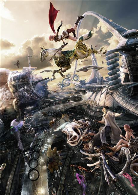 Final Fantasy 13 XIII Silk Print Games Poster 005