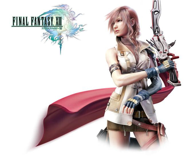 Final Fantasy 13 XIII Silk Print Games Poster 008