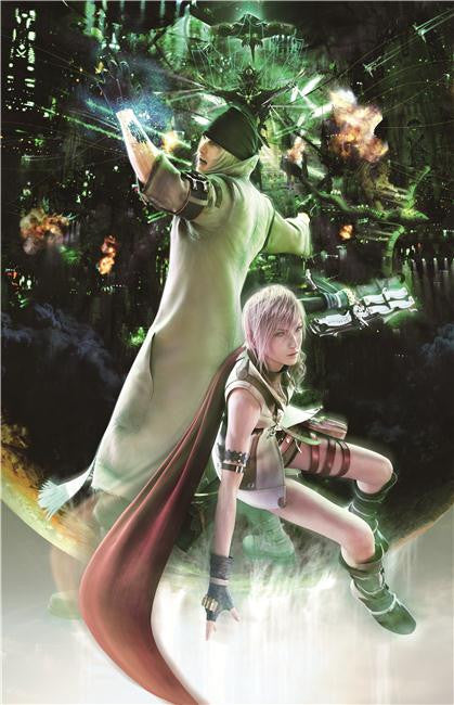 Final Fantasy 13 XIII Silk Print Games Poster 012
