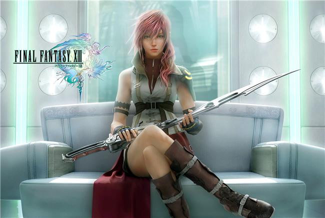 Final Fantasy 13 XIII Silk Print Games Poster 018