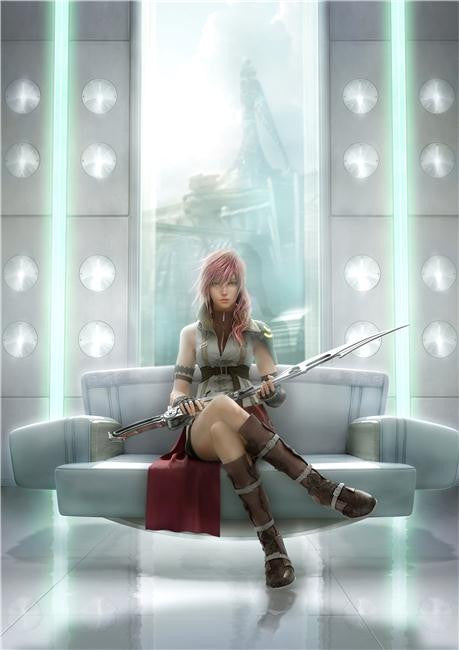 Final Fantasy 13 XIII Silk Print Games Poster 019