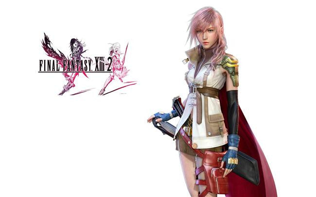 Final Fantasy 13 XIII 2 Silk Print Games Poster 003
