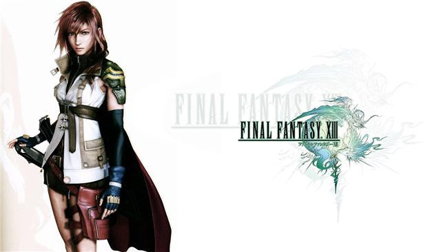 Final Fantasy 13 XIII 2 Silk Print Games Poster 005