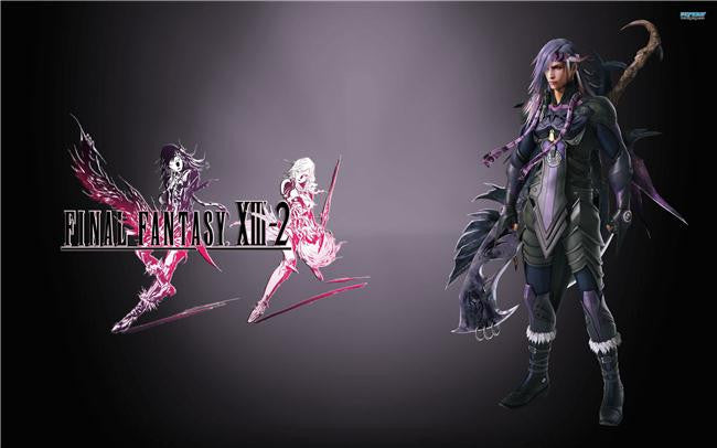 Final Fantasy 13 XIII 2 Silk Print Games Poster 010