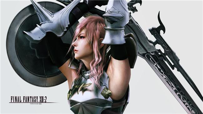 Final Fantasy 13 XIII 2 Silk Print Games Poster 016