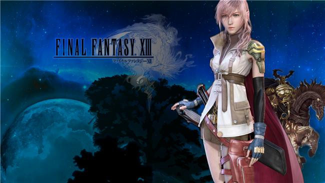 Final Fantasy 13 XIII 2 Silk Print Games Poster 025