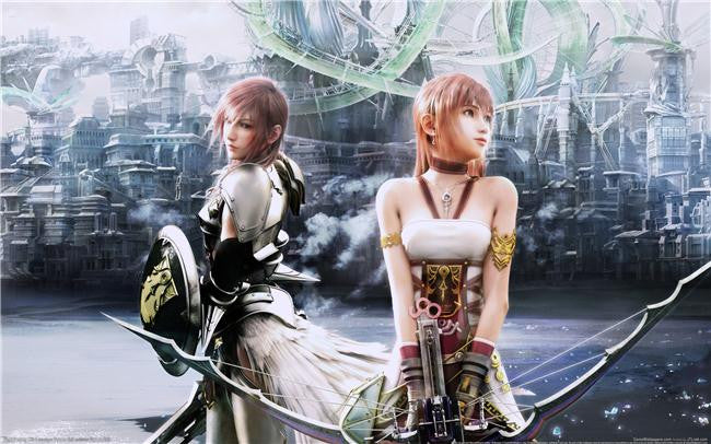 Final Fantasy 13 XIII 2 Silk Print Games Poster 043