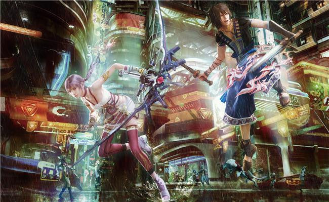 Final Fantasy 13 XIII 2 Silk Print Games Poster 045