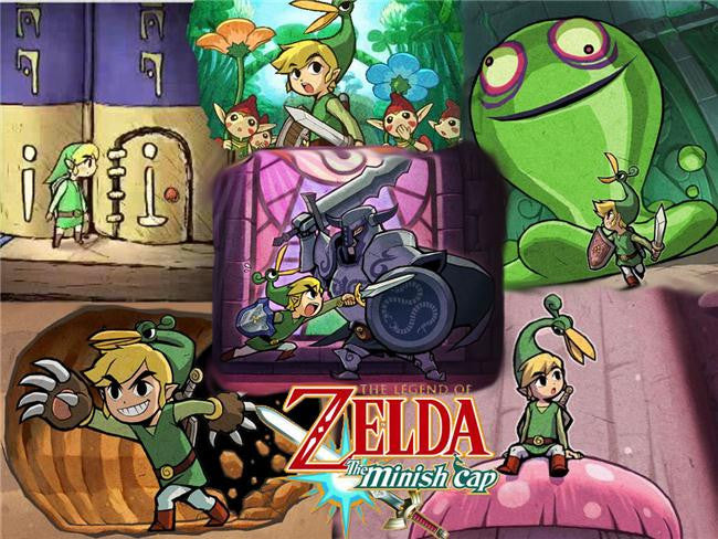 Legend Of Zelda Silk Print Game Poster 039