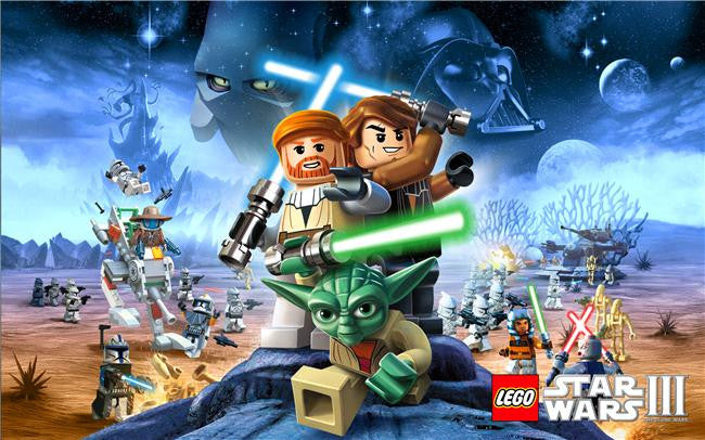 Lego Star Wars Silk Print Games Poster 001