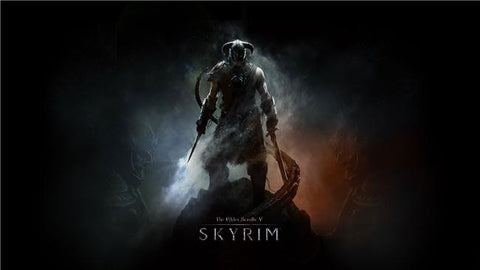 The Elder Scrolls 5 Skyrim Silk Print Games Poster 012