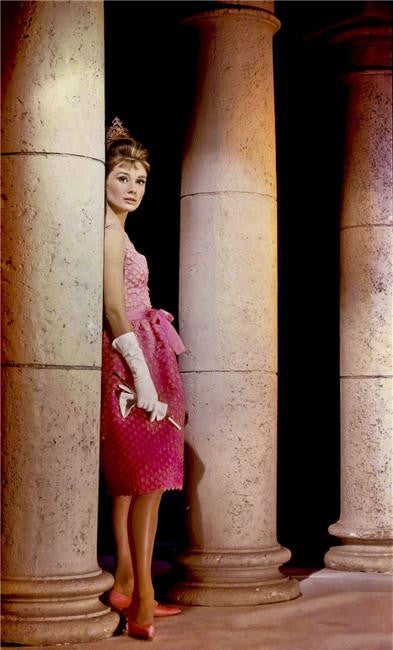 Audrey Hepburn Silk Print Artists Poster 010