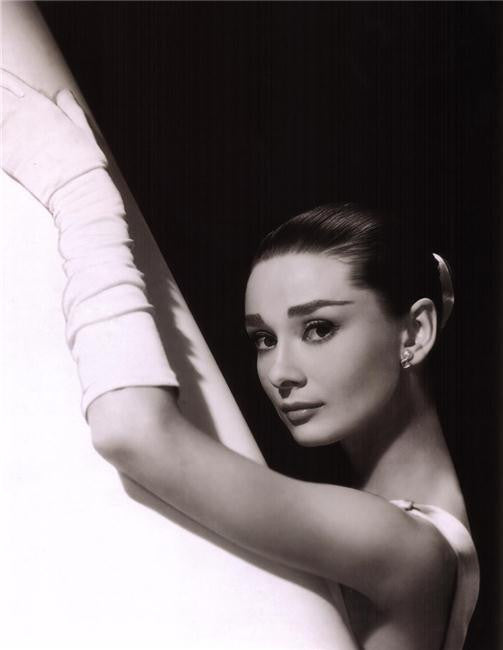 Audrey Hepburn Silk Print Artists Poster 051