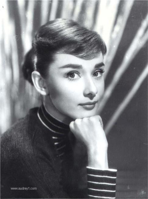 Audrey Hepburn Silk Print Artists Poster 099