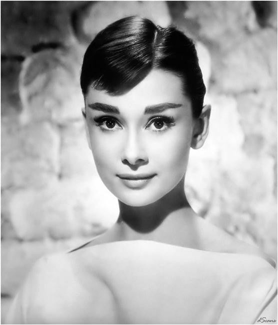 Audrey Hepburn Silk Print Artists Poster 109