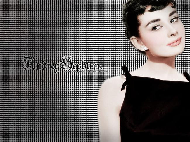 Audrey Hepburn Silk Print Artists Poster 117