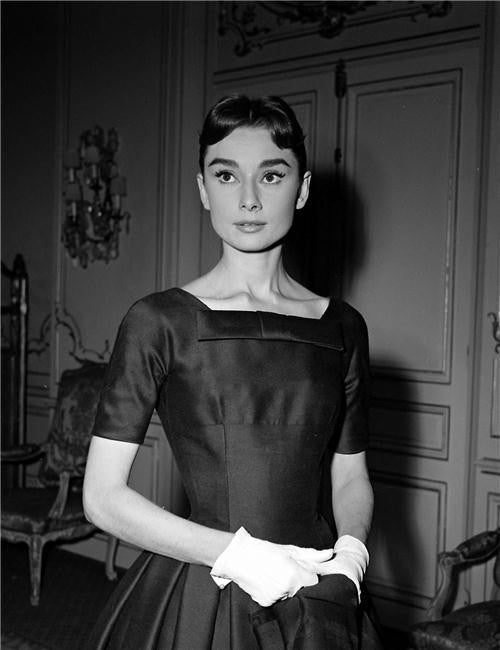 Audrey Hepburn Silk Print Artists Poster 122