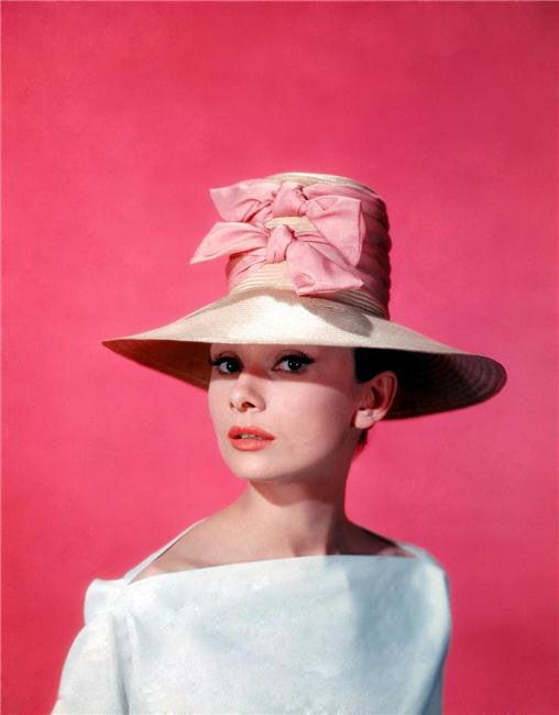 Audrey Hepburn Silk Print Artists Poster 123