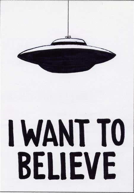 X Files I Want to Believe Silk Print Movies Poster 002