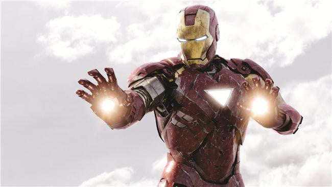 Iron Man 3 Silk Print Movies Poster 016