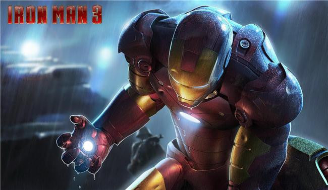 Iron Man 3 Silk Print Movies Poster 030
