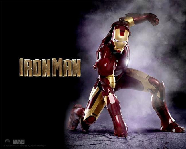 Iron Man 3 Silk Print Movies Poster 040