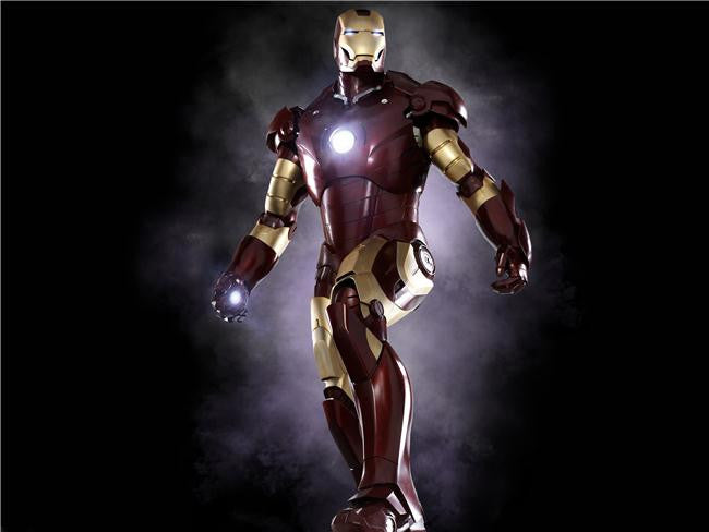 Iron Man 3 Silk Print Movies Poster 051