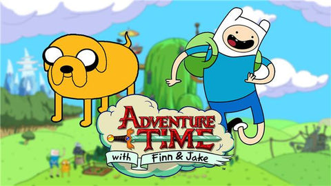 Adventure Time Silk Print Animes Poster 003