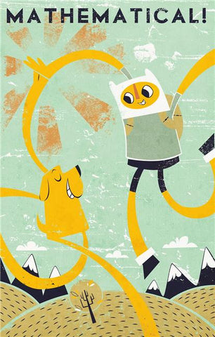 Adventure Time Silk Print Animes Poster 004