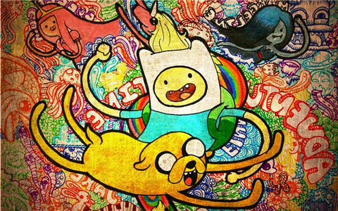 Adventure Time Silk Print Animes Poster 008