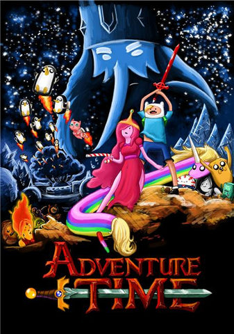 Adventure Time Silk Print Animes Poster 009