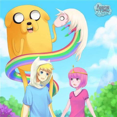 Adventure Time Silk Print Animes Poster 015