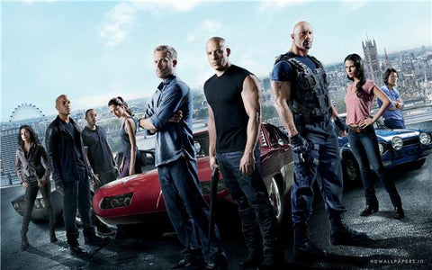 Fast Furious 6 Silk Print Movies Poster 005