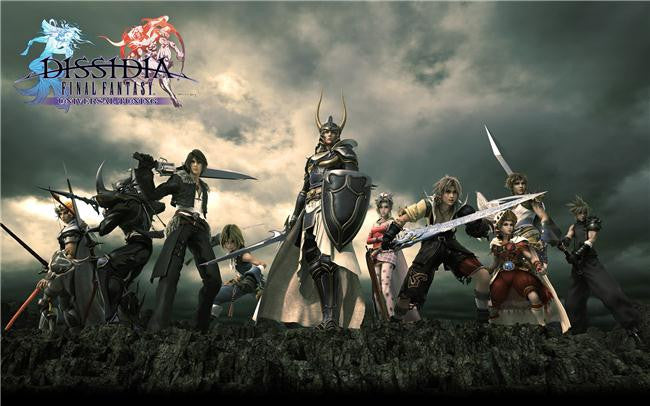 Dissidia Final Fantasy Silk Print Games Poster 002