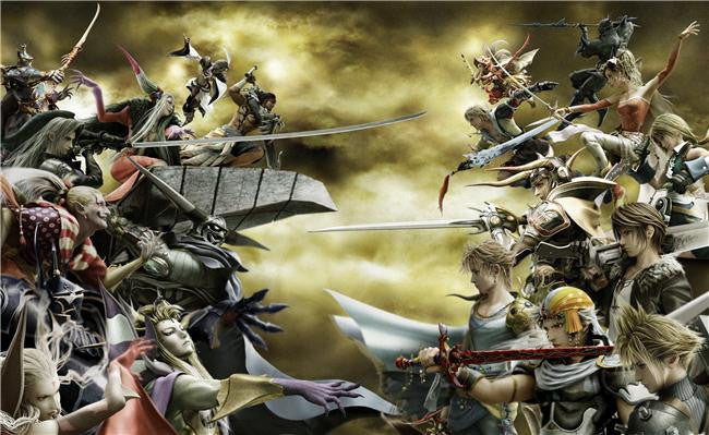Dissidia Final Fantasy Silk Print Games Poster 005
