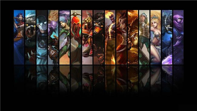 League Of Legends Silk Print Games Poster 005