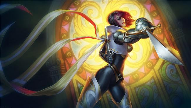 League Of Legends Silk Print Games Poster 047