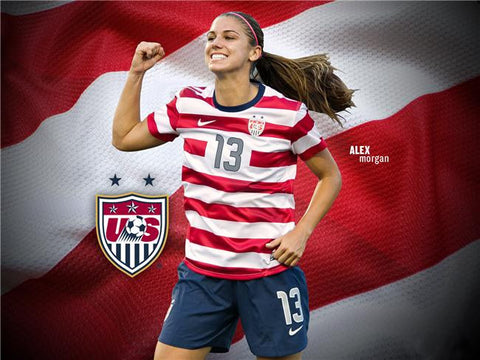 Alex Morgan Silk Print Sports Poster 061